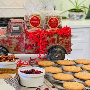 Hot Cakes Bakery Crispy Crafted Butter Pecan Cranberry Cookies Feature
