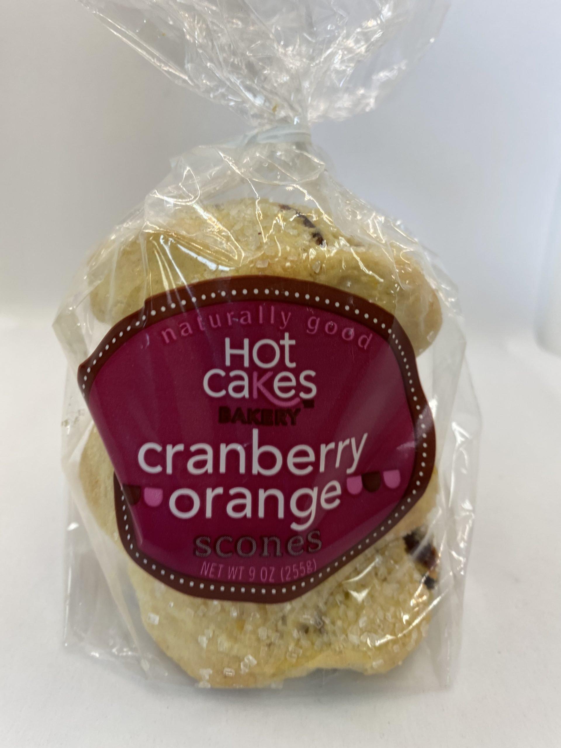 Hot Cakes Cranberry Orange Scones 3