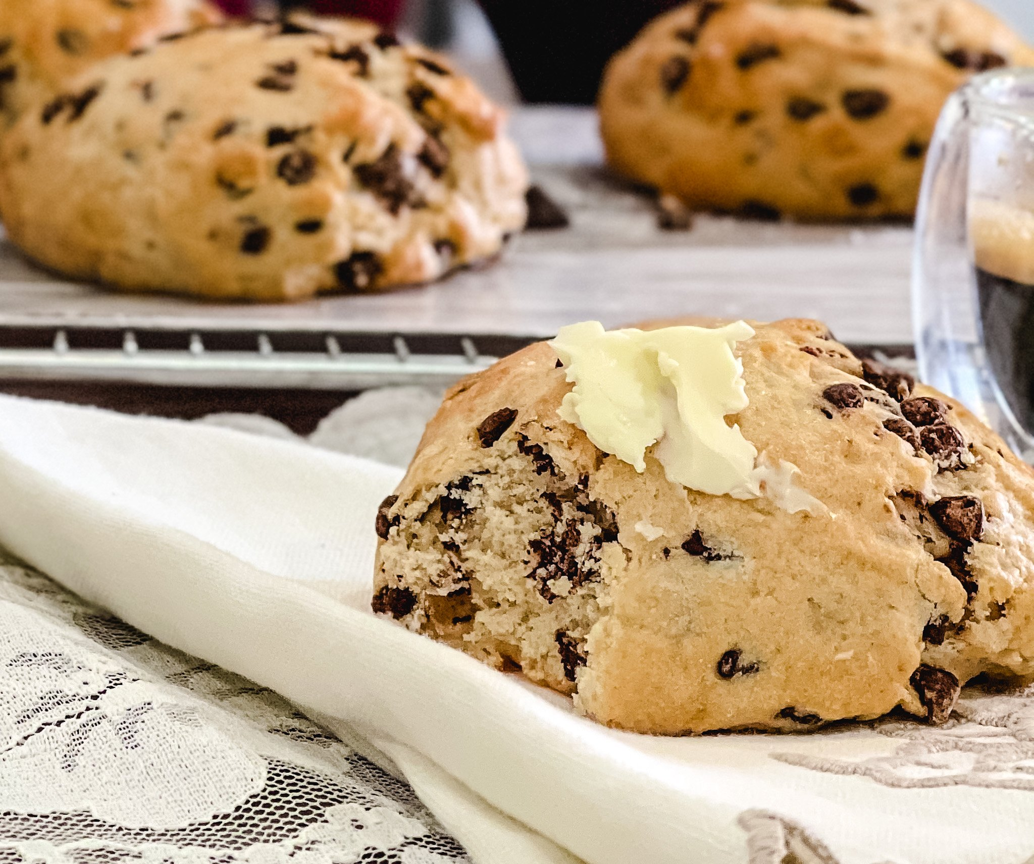Hot Cakes Bakery - Chocolate Chip Scones 1