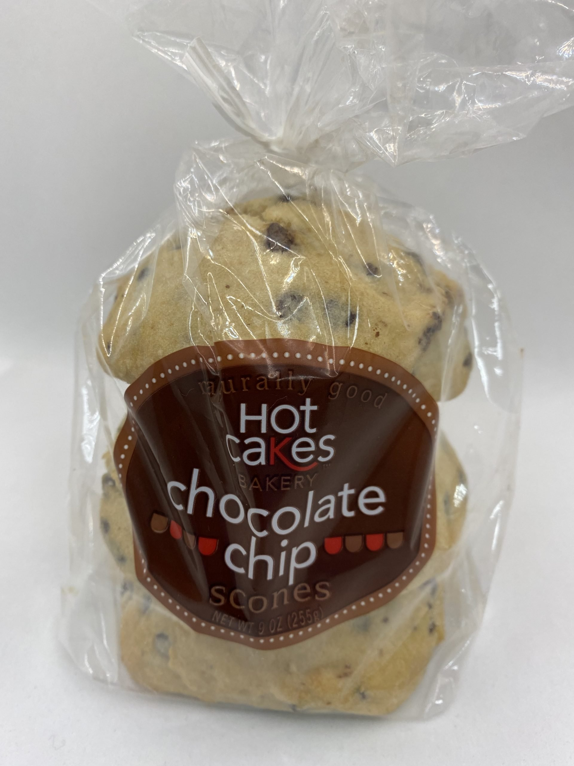 Hot Cakes Bakery - Chocolate Chip Scones Packaged