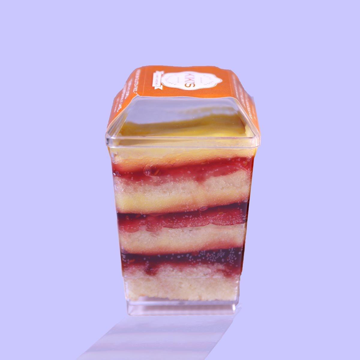 Kiki's Lemon Curd Raspberry Cake Feature
