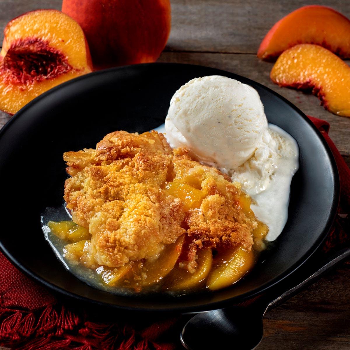 Peach Cobbler Feature