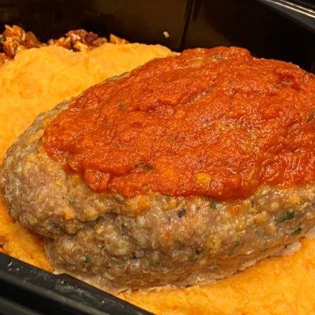 Gourmet Kitchn Turkey Meatloaf Square