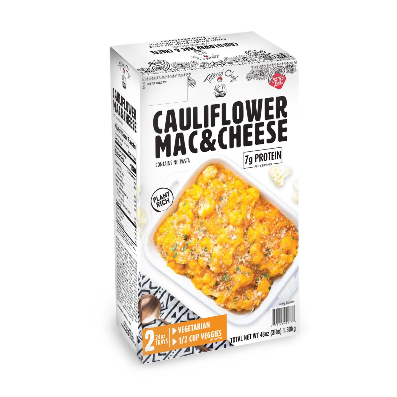 Tattooed Chef Cauliflower Mac & Cheese Angled Front