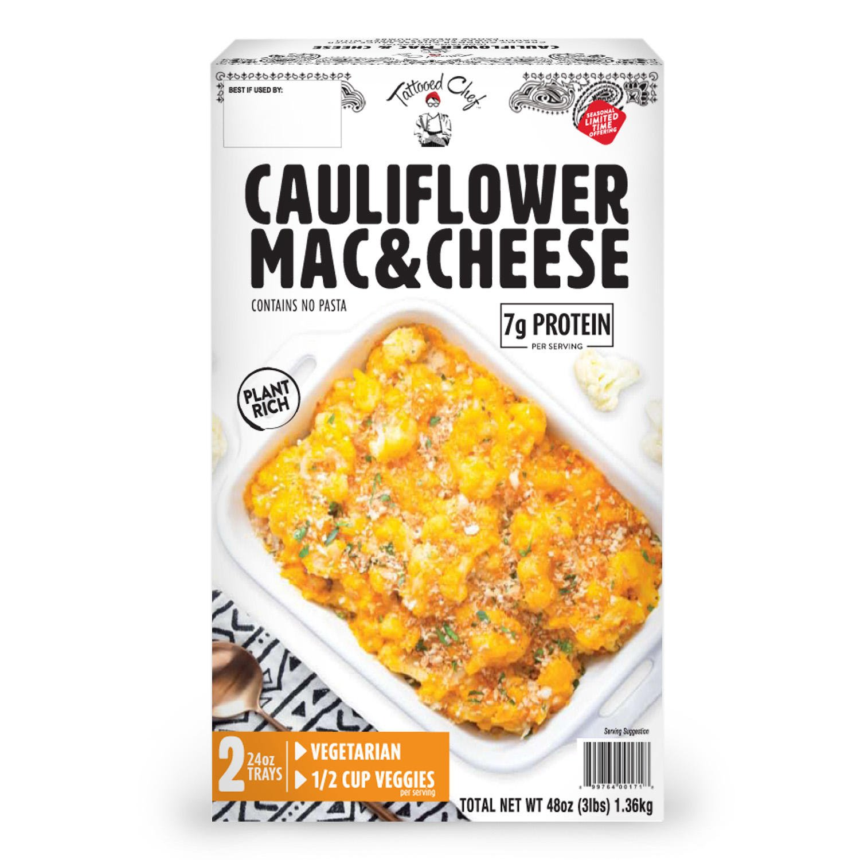 Tattooed Chef Cauliflower Mac & Cheese Front 2