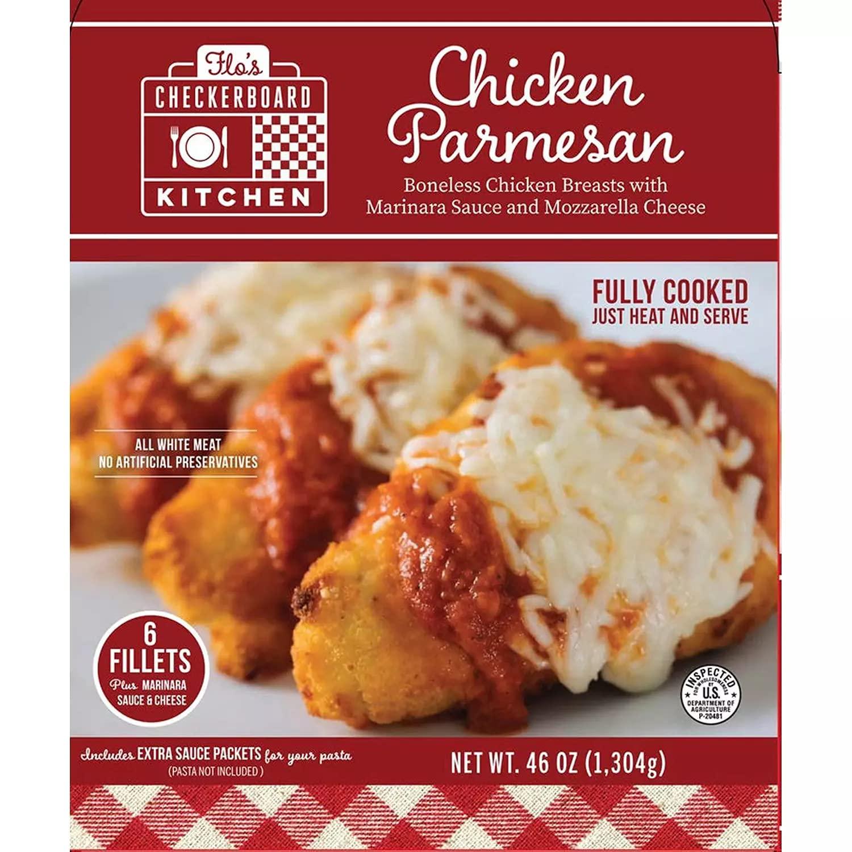 Flo's Checkerboard Kitchen Chicken Parmesan-front