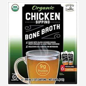 Golden Ladle Chicken Bone Broth Front