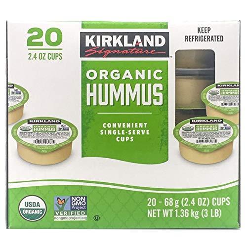 Kirkland Signature Organic Hummus-front