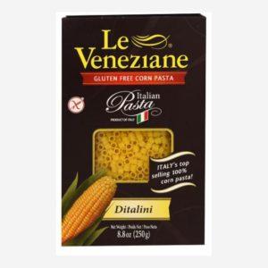 Le Veneziane Gluten Free Ditalini Pasta Feature