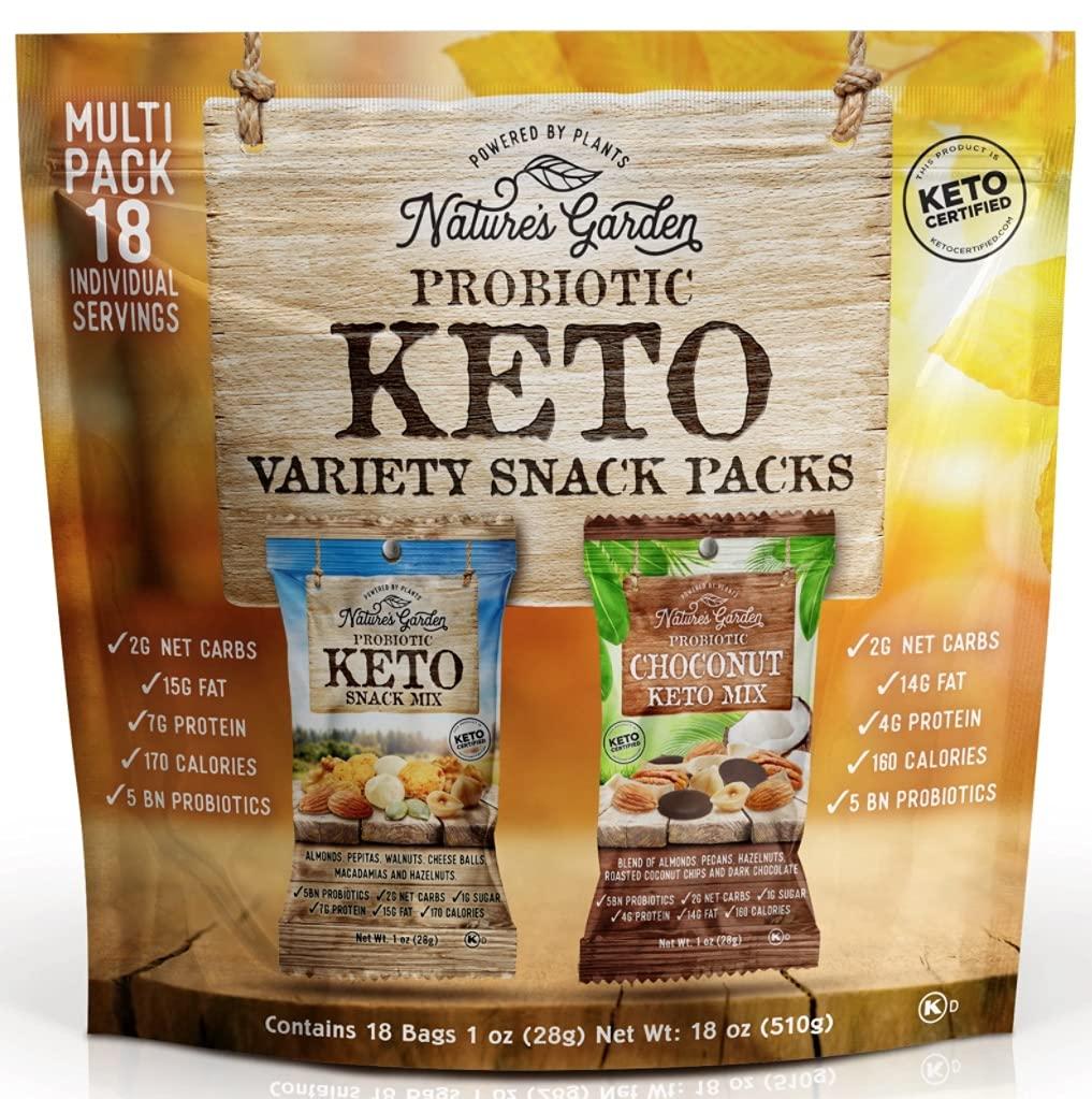 Nature's Garden Keto Variety Snacks-front