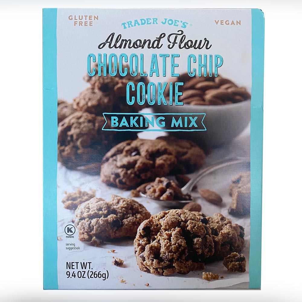 Trader Joes-Almond Flour Chocolate Chip Cookie Mix-front