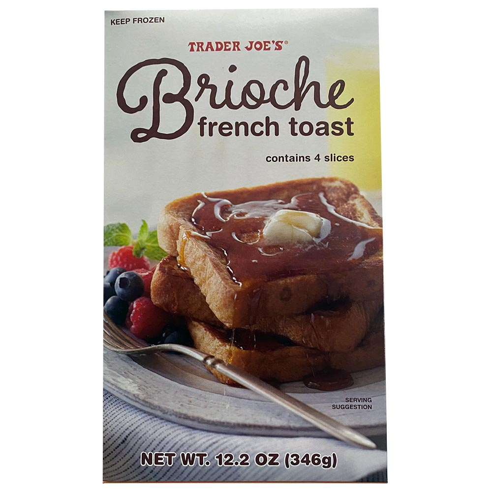 Trader Joes-Brioche French Toast-front
