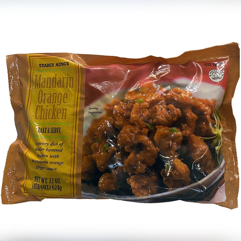 Trader Joes-Mandarin Orange Chicken-front