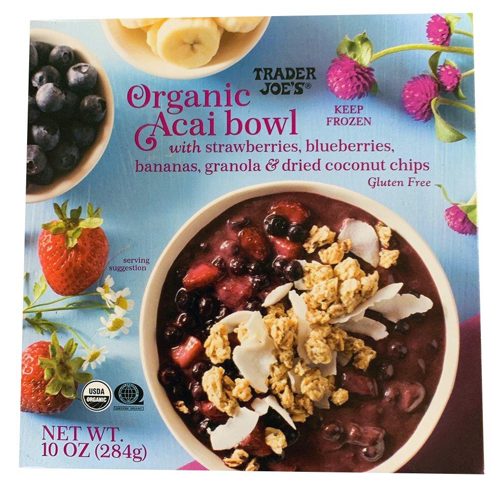 Trader Joe's – Organic Acai Bowl-front