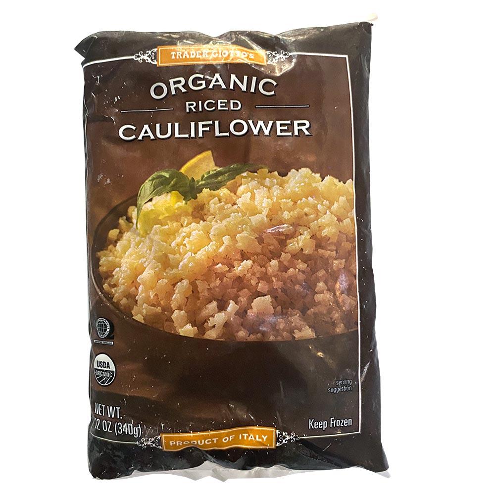 Trader Joes-Organic Riced Cauliflower-front