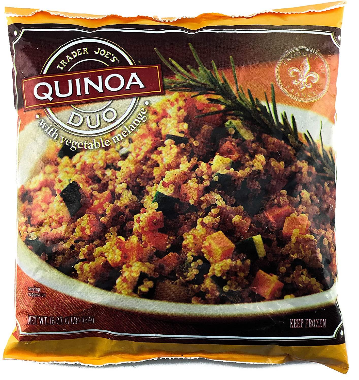 Trader Joe's – Quinoa Duo wVegetable Melange-front
