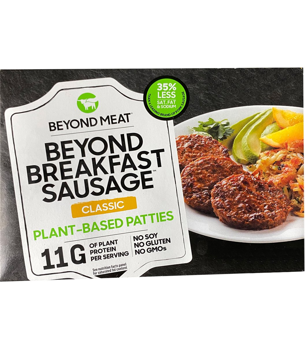 Beyond Meat Beyond Breakfast Sausage-front