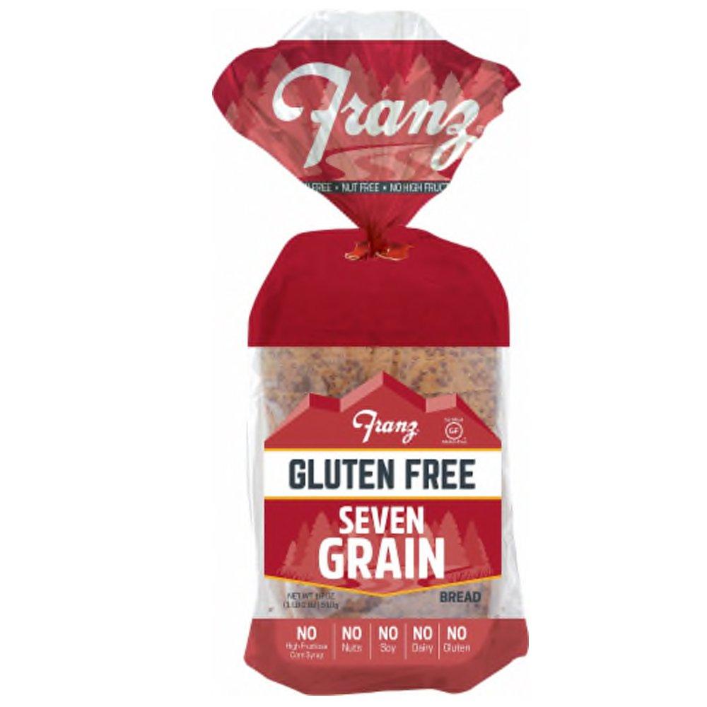 Franz Gluten-Free 7 Grain Sliced Bread-front