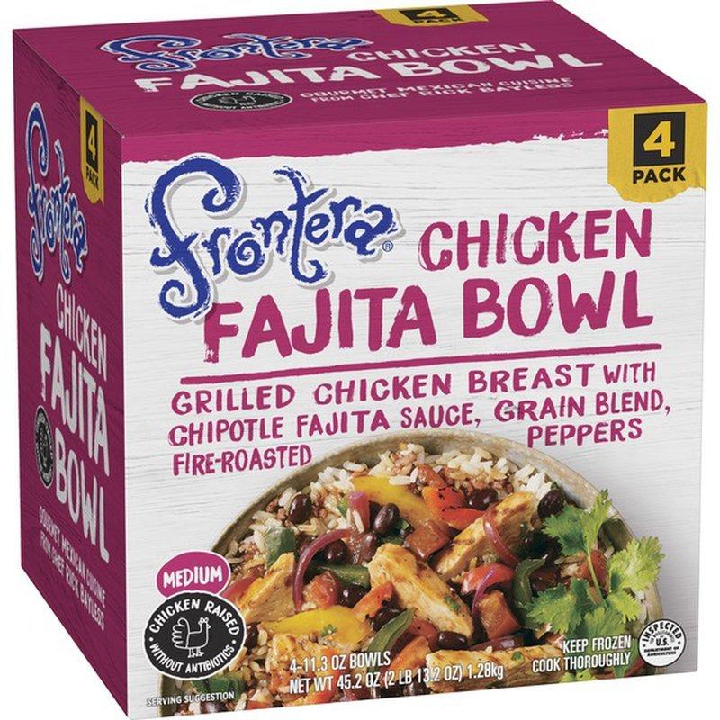 Frontera Chicken Fajita Bowl-front