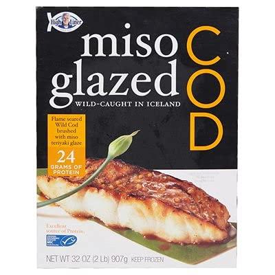 High Liner Frozen Miso Glazed Cod-front