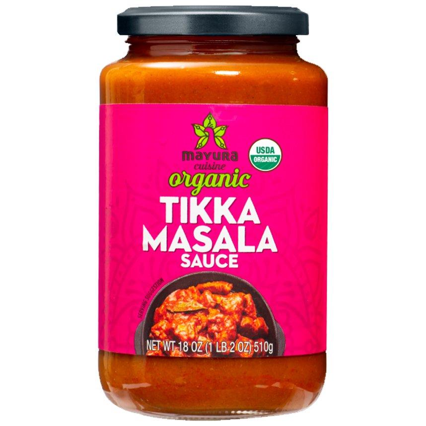 Mayura Cuisine Organic Tikka Masala Sauce-front