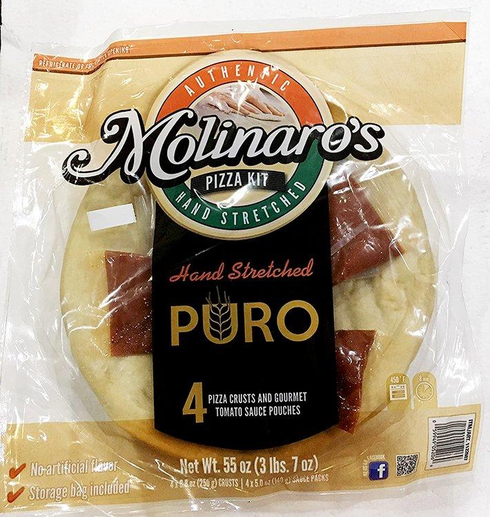 Molinaro's Fine Italian Foods Pizza Kit-front