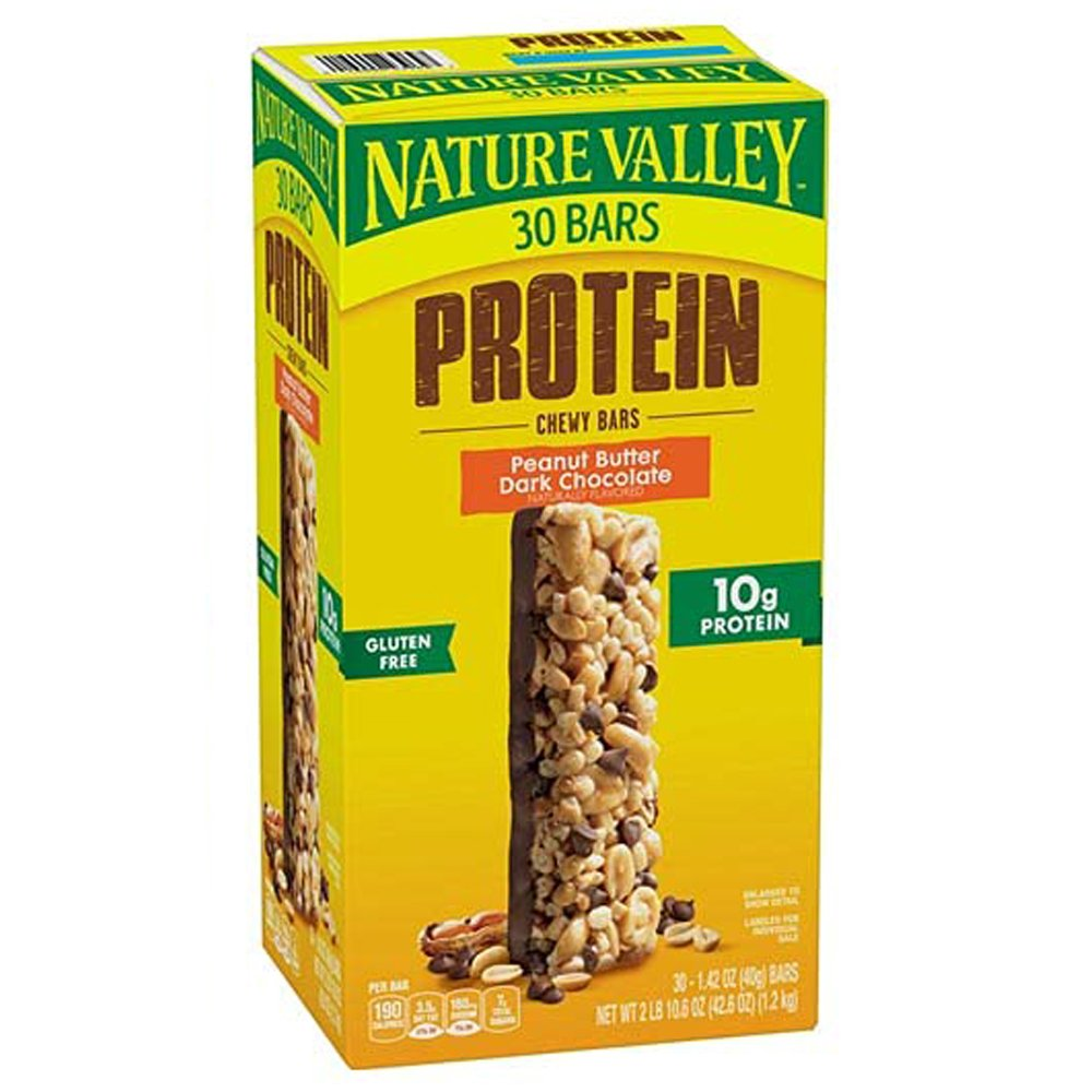 Nature Valley Chewy Protein Bars-front