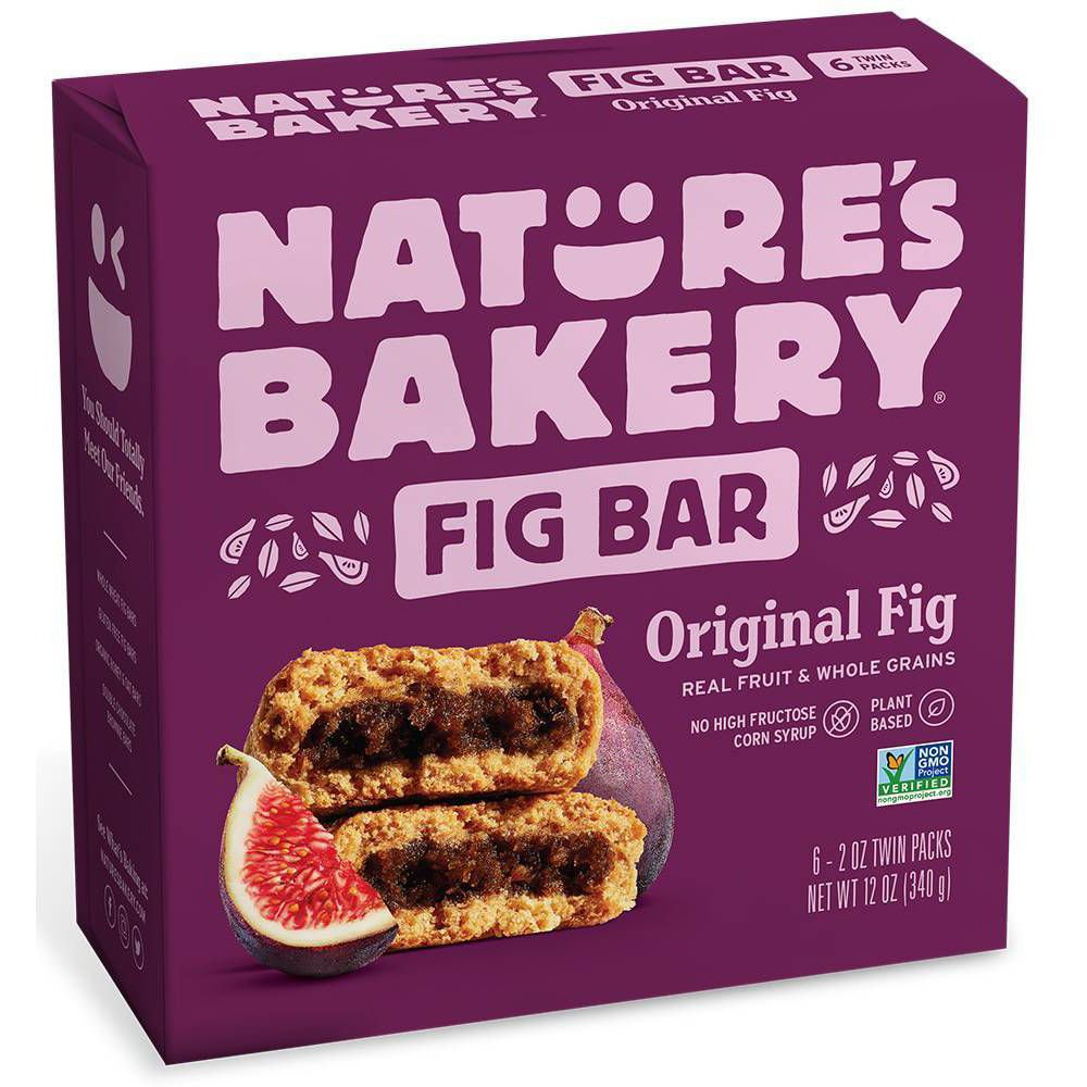Nature's Bakery Whole Wheat Fig Bars-front