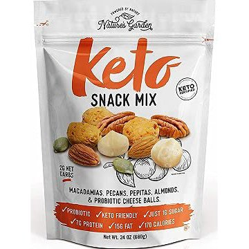 Nature's Garden Keto Snack Mix-front