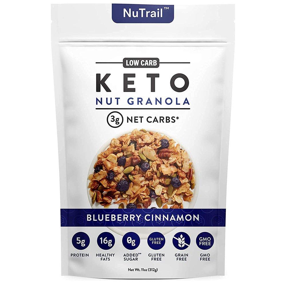 NuTrail_Keto Nut Granola Blueberry Cinnamon-front