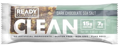 Ready Nutrition Clean Protein Bar – Dark Chocolate Sea Salt
