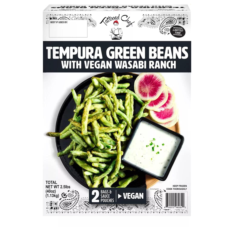 Tattooed Chef Tempura Green Beans-front
