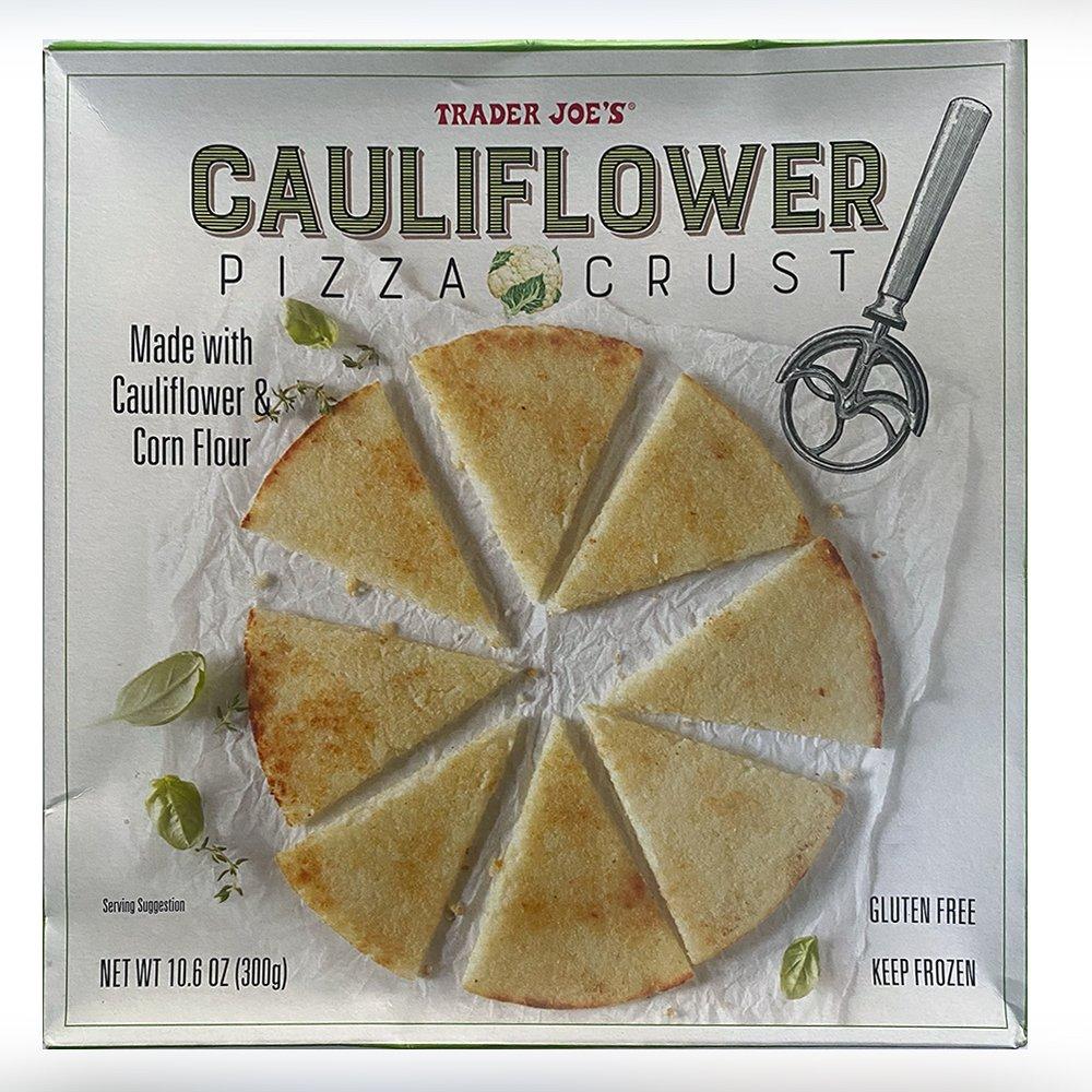 Trader Joes-Cauliflower Pizza Crust-front