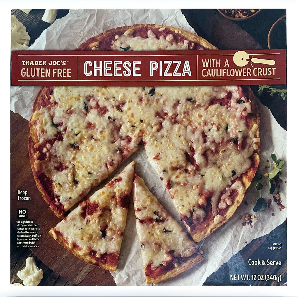 Trader Joes-GF Cheese Pizza-front