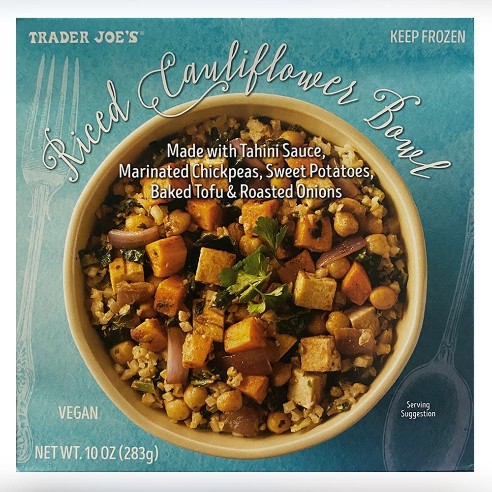 Trader Joes-Riced Cauliflower Bowl-front