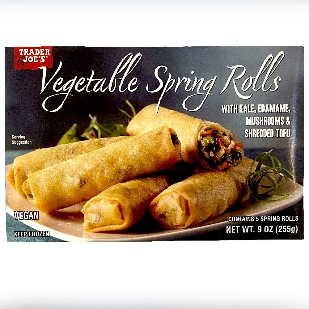 Trader Joes-Vegetable Spring Rolls-front