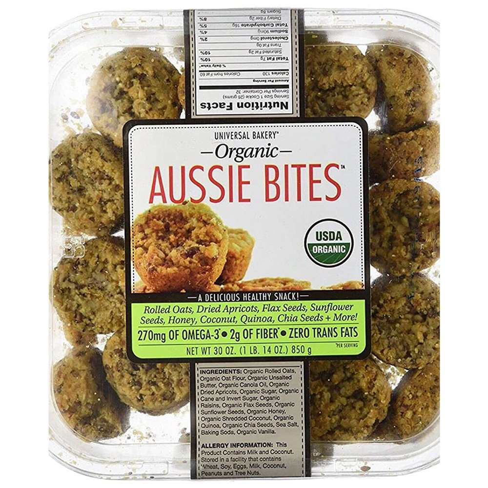 Universal Bakery_Organic Aussie Bites-front
